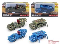 军事导弹车模型 兰州模型车批发中心