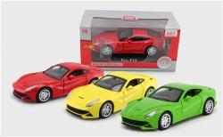法拉利跑车模型 合金车汽车 1:32