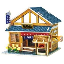 庆阳木制玩具 日本酒馆木屋