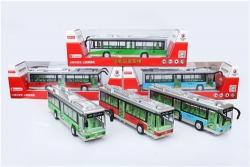 兰州儿童玩具合金车大巴公交车模型
