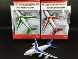 合金车飞机模型 兰州儿童玩具合金飞机